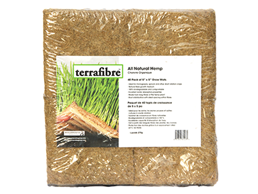 All natural hemp mats 5 x 5 for horticulture