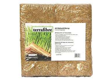 All natural hemp mats 5 x 5 for horticulture