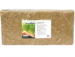All natural hemp mats 10 X 20 for horticulture