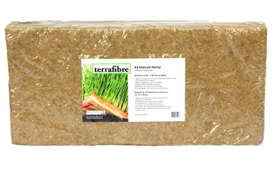 Terrafibre hemp growing mats - grow microgreens at home, grow microgreens without soil