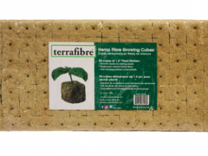 "1.5"" grow cubes, 1.5 inch growing cubes, terrafibre hemp growing media, terrafibre hemp, terrafibre, terrafibre grow mat, grow mat, growing media, growing medium, hemp, hemp fibre, hemp helps, microgreens, grow microgreens at home, grow microgreens without soil, terrafibre hemp growing cubes, grow lettuce indoors, grow vegetables indoors, hydroponic growing, hydroponics, growing media for vegetables, greenhouse, hydroponic supplies,"