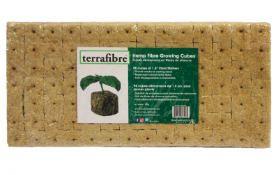 "Terrafibre Hemp Growing Cubes - 1.5"" grow cubes"