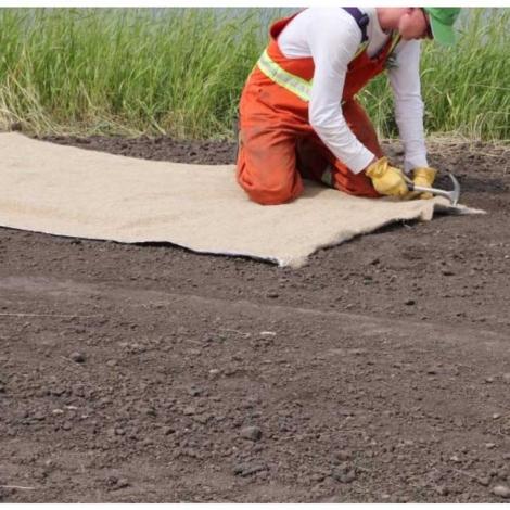 Product - Erosion Control Hemp Mat