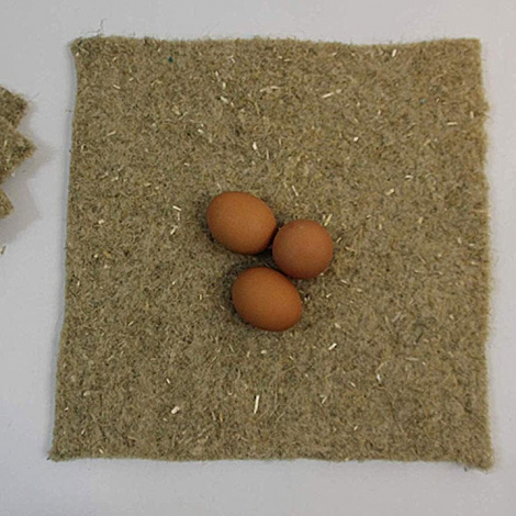 Hemp Poultry Nesting Sheets
