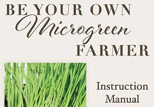 Small Growing Microgreens Instruction