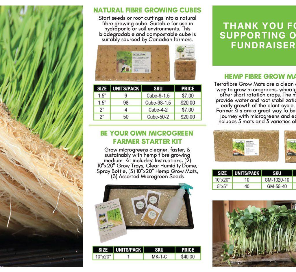 Terrafibre fundraising brochure